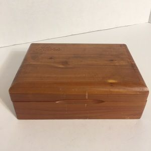 "Nice n Simple ""Hers"" Wooden Trinket Box!"